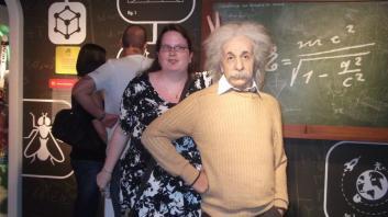 Da zeig ich dem Albert Einstein Häschen- ohren