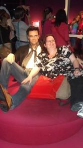 Auf Tuchfühlung mit Robbie Williams