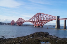 Forth Bridge im Firth of Forth